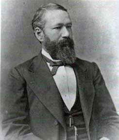Homer Plessy as he actually lookedc and as he was portrayed.